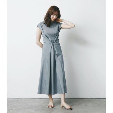 【予約商品】100633 / 2wayウエストデザインカットワンピース