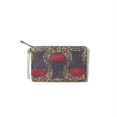 スパングル 3way  bag《 赤い傘 》