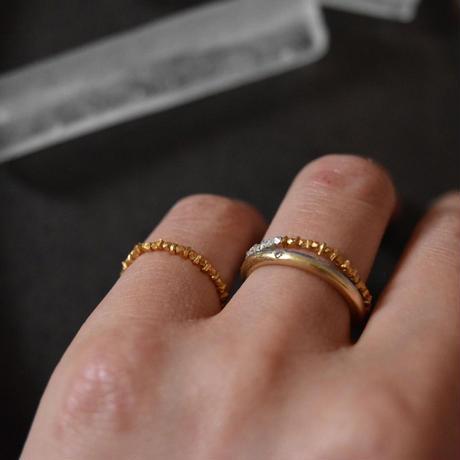 【 gold】カレンシルバー リング