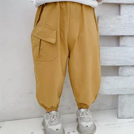 【3色展開】アシメポケットパンツ
