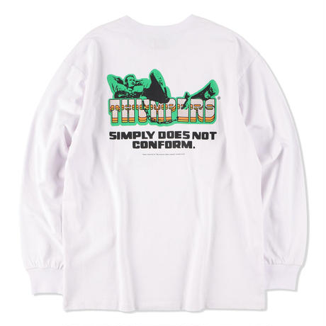 THUMPERS NYC Does Not Conform L/S TEE 2COLORS