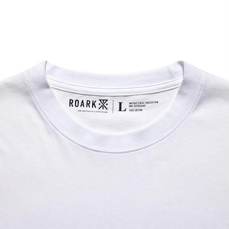 ROARK REVIVAL REUSE 2PACK S/S TEE - 抗菌防臭 WHITE/WHITE