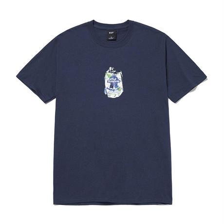"""HUF  WORLD  WIDE""""HUF X PBR CRUSHED CAN S/S TEE"""""""