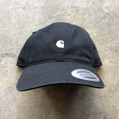 CARHARTT WIP  MADISON LOGO CAP [BLACK/WAX]