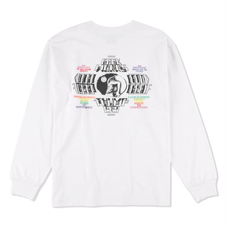 """THUMPERS NYC x BOOKWORKS """"BEGINNING L/S TEE"""""""
