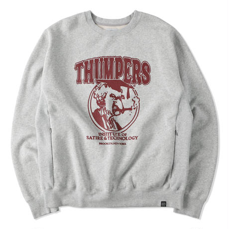 THUMPERS NYC Institute Pocket Sweat Crew