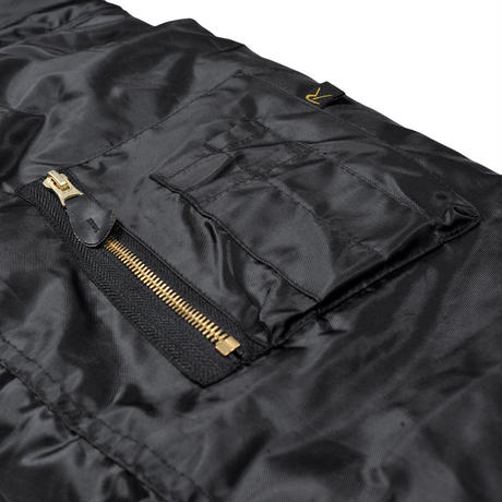 RAVE SKATEBOARDS SHATTERED LOGO reversible flight jacket 2COLORS