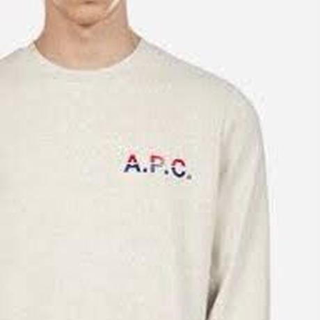 """A.P.C. """"MICHEL SWEAT""""[ECRU]"""