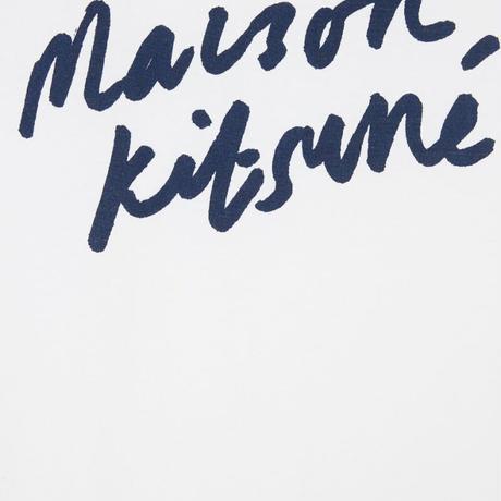 MAISON  KITSUNE HANDWRITING CLASSIC TEE-SHIRT