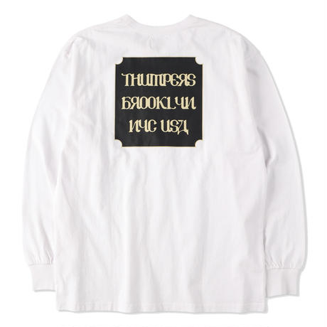 THUMPERS NYC Classic Logo L/S TEE 2COLORS