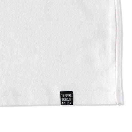 """THUMPERS NYC""""LEATHER PATCH LOGO S/S TEE """"3COLORS"""