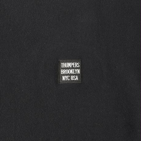 """THUMPERS NYC""""BOX LOGO POCKETS SWEAT""""2COLORS"""