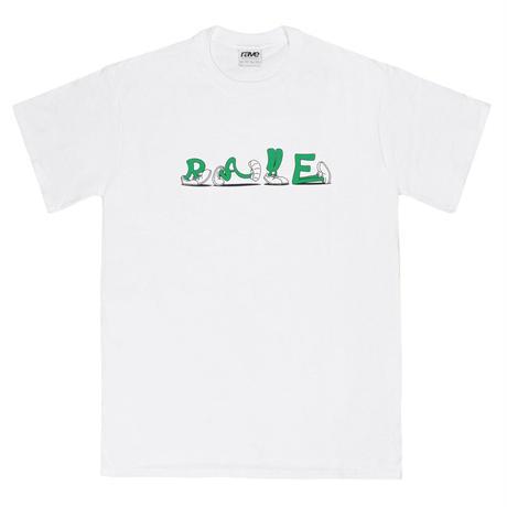 RAVE SKATEBOADS START & GO white tee