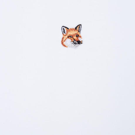 MAISON KITSUNE FOX HEAD PATCH CLASSIC TEE-SHIRT 2COLORS