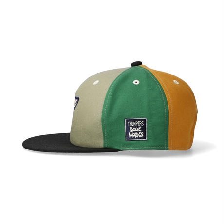 """THUMPERS NYC x BOOKWORKS """"LOGO MULTI COLOR CAP"""""""