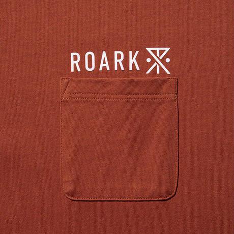 "ROARK REVIVAL""LOGO 9.3oz H/W POCKET TEE"""