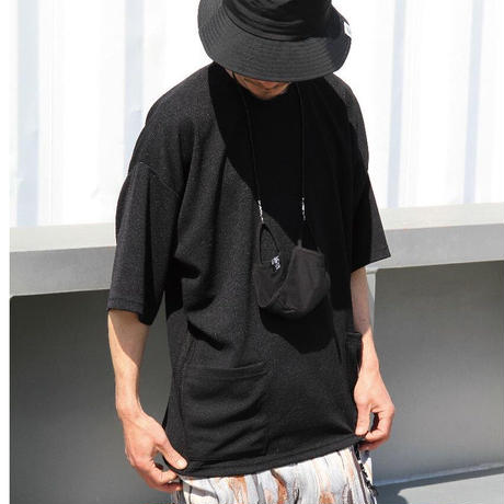 """QUOLT""""SIDE-KNIT CUTSEW""""3COLORS"""