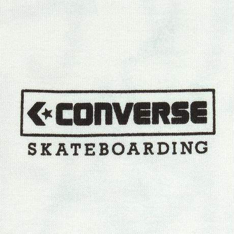 CONVERSE SKATEBOARDING LOGO S/S TEE  [WHITE]