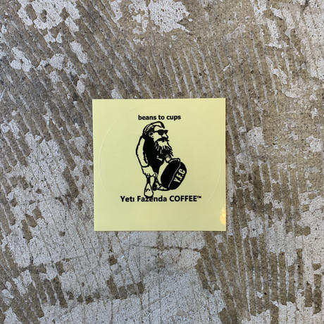 Yeti sticker  (髭)