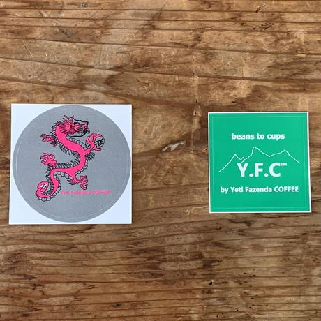 Yeti Sticker 2 SET(ドラゴン、YFC)