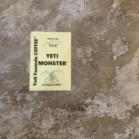 YETI MONSTER sticker 1枚