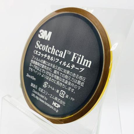 スコッチカルフィルムテープ SC3×5MGL 3㎜×5m メタリックゴールド