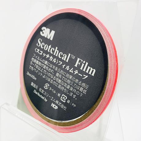 スコッチカルフィルムテープ SC3×5KPI 3㎜×5m 蛍光ピンク