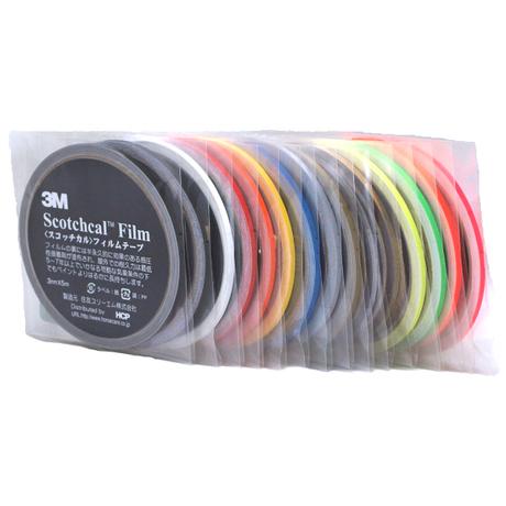 スコッチカルフィルムテープ SC3×5KYE 3㎜×5m 蛍光イエロー