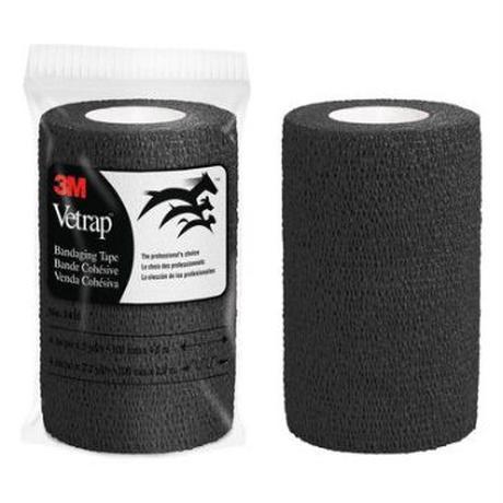 ヴェトラップバンテージングテープ 1410P BLA 100mm×4.5m ブラック