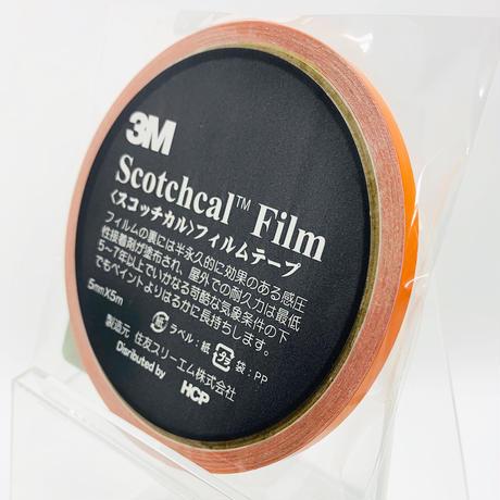 スコッチカルフィルムテープ SC5×5OR 5㎜×5m オレンジ