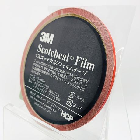 スコッチカルフィルムテープ SC3×5RE 3㎜×5m レッド