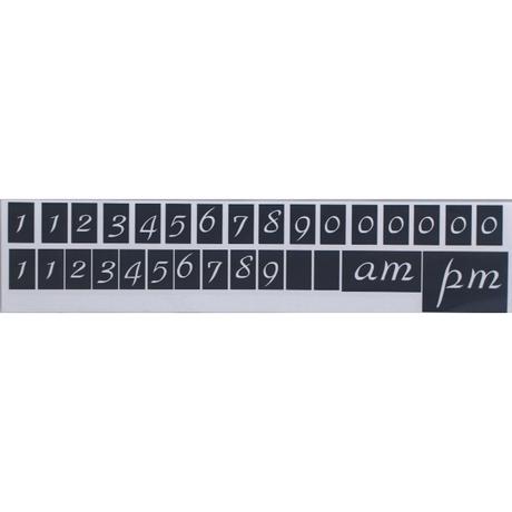 ステンレスサインプレート ST-T004 1㎜厚 チェーン付 150㎜×310㎜ OPENCLOSE