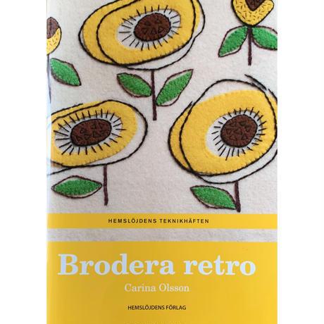 スウェーデン刺繍本《Brodera retro》