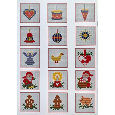ミニブック 24クリスマスモチーフ