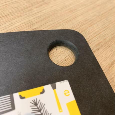 【人生が変わる料理道具掲載!!】最も気軽に使えて、衛生的に保ちやすいカッコいいまな板あります!ブラック Lサイズ