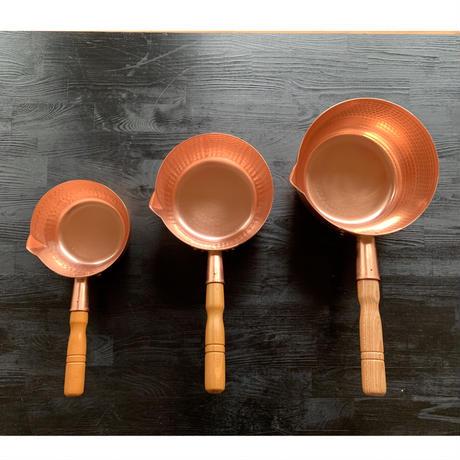 【飯田屋オリジナル】究極の熱伝導!純銅製雪平鍋 大サイズ(21cm)