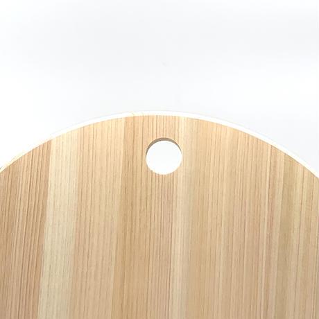 【幻のまな板】ありそうでなかった家庭サイズのヒノキ製丸型まな板30cm