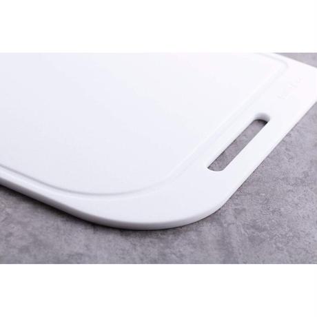 SILTEQ (シルテック) きれいのミカタ 丸めて煮沸除菌できるまな板 Mサイズ/ホワイト