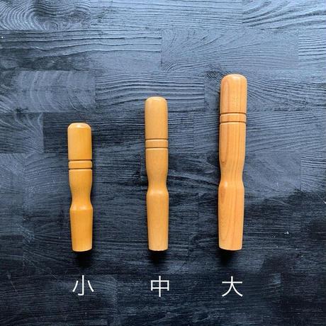 飯田屋純銅製雪平鍋15cm(小サイズ)用の替え木柄(クギ付き)