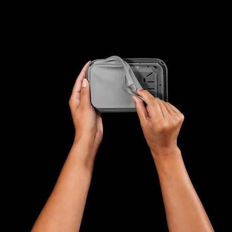 【見せる収納!】OXOステンレスポップコンテナ「ビックスクエア・ミディアム」