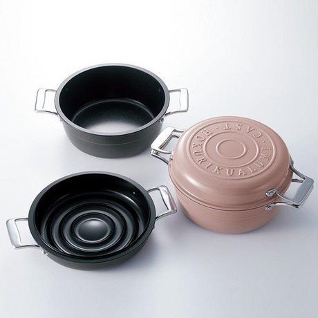 【NHKラジオすっぴん!で紹介】IH対応!!軽くてこびりつかない第二世代の無水調理鍋 シルバー色