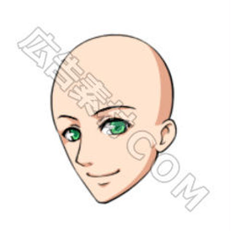 男性の「顔」32