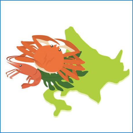 「北海道・青森5地域のご当地グルメ」お取り寄せアフィリエイト穴埋め式記事テンプレート集!