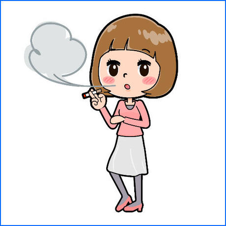 「女性におすすめの電子タバコ」電子タバコ(禁煙)アフィリエイト記事テンプレート!