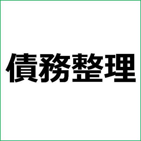 「個人民事再生とは」債務整理アフィリエイト記事テンプレート!