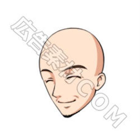 男性の「顔」16