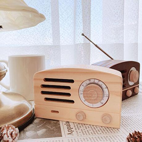 ラジオ木箱(ダークブラウン)