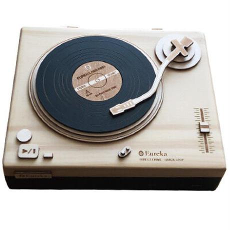 ※11月初旬販売開始※レコードプレーヤー木箱(ブラック)