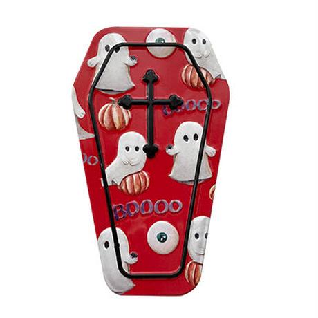 ハロウィン コフィン缶 (レッド)