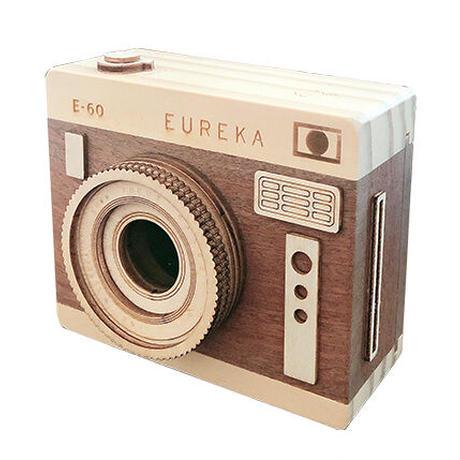 ※11月初旬販売開始※インスタントカメラ木箱(ブラウン)